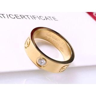 カルティエ(Cartier)の正規品 カルティエ ラブミー K18 ゴールド リング 送料込み(リング(指輪))