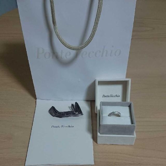 PonteVecchio(ポンテヴェキオ)の【CC様専用】ポンテヴェキオ ダイヤモンドパヴェリング レディースのアクセサリー(リング(指輪))の商品写真