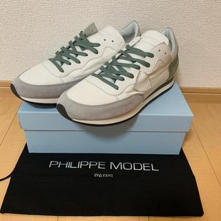 フィリップモデル(PHILIPPE MODEL)の新品未使用 フィリップモデル Tropez カーキグレー(スニーカー)