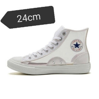 コンバース(CONVERSE)の値下げ 24cm ALL STAR LIGHT CLEARMATERIAL HI(スニーカー)
