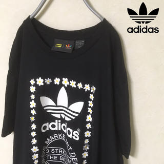 adidas × PHARRELL WILLIAMS フラワーTシャツ