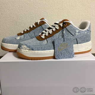 NIKE - NIKE by you LEVI'S AIR FORCE 1 カスタム品
