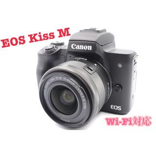 Canon - 極美品❤️Canon EOS Kiss M ❤️ブラック レンズキット