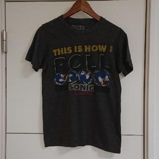 セガ(SEGA)のソニック ゲームキャラTシャツ 90s古着 (Tシャツ/カットソー(半袖/袖なし))