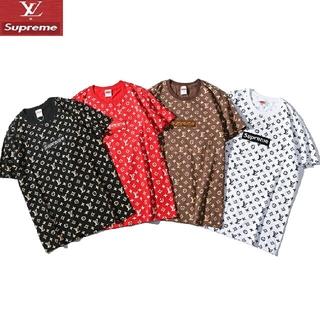 LOUIS VUITTON - 「2枚セット7110円」 白黒mサイズ 人気商品 コラボ 刺绣ロゴ  Tシャツ