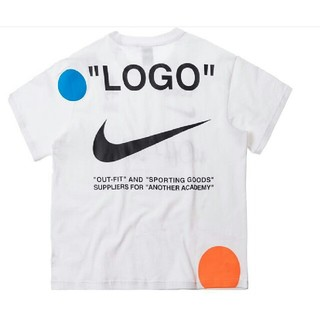 OFF-WHITE - offwhite nike コラボ ホワイト 人気商品 メンズ Tシャツ