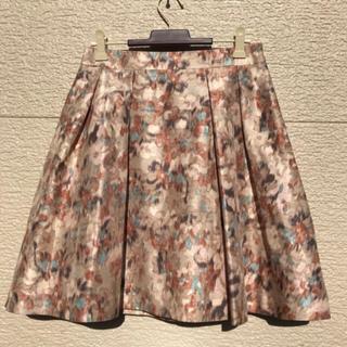 ビューティアンドユースユナイテッドアローズ(BEAUTY&YOUTH UNITED ARROWS)の美品 ユナイテッドアローズ スカート 柄 M(ひざ丈スカート)