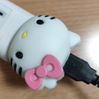 ハローキティ(ハローキティ)のUSB電源アダプタ 充電器 ハローキティ(バッテリー/充電器)