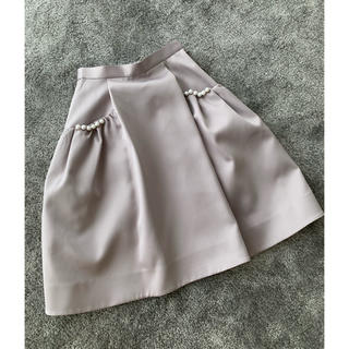 チェスティ(Chesty)のチェスティ パールスカート(ひざ丈スカート)