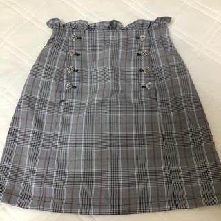 ワンアフターアナザーナイスクラップ(one after another NICE CLAUP)のチェックタイトスカート(ひざ丈スカート)