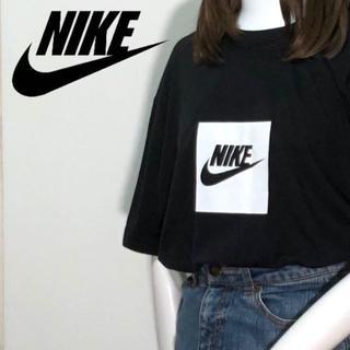 NIKE - 【01-561】ナイキ NIKE 半袖Tシャツ ボックスロゴ ビッグシルエット