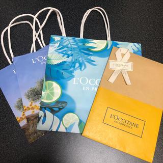 ロクシタン(L'OCCITANE)のロクシタン 紙袋セット(ショップ袋)