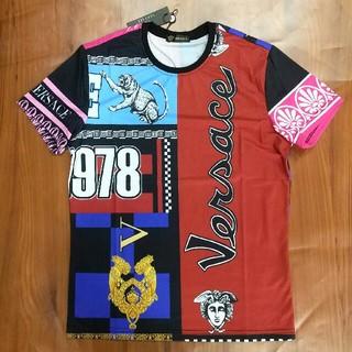 ヴェルサーチ(VERSACE)のVERSACE Tシャツ メンズ 半袖 超美品 ファッション 夏コーデ(Tシャツ/カットソー(半袖/袖なし))
