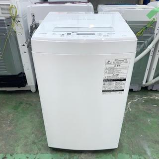 トウシバ(東芝)の⭐︎TOSHIBA⭐︎全自動洗濯機 2019年4.5kg美品 大阪市近郊配送無料(洗濯機)