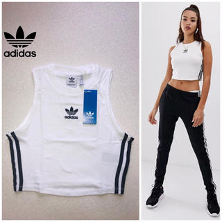 adidas - 翌日発送【大人気】adidas originals クロップド Tシャツ新品