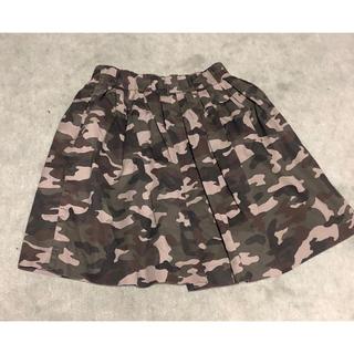 ローリーズファーム(LOWRYS FARM)のローリーズファーム スカート 迷彩 フリーサイズ(ミニスカート)