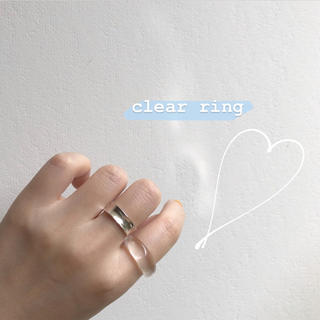 clear ring(リング(指輪))