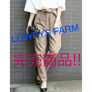 ローリーズファーム(LOWRYS FARM)のリボンテーパードパンツ(カジュアルパンツ)