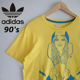 アディダス(adidas)の721 レア 90s アディダスオリジナルス 白タグ レアデザイン Tシャツ(Tシャツ/カットソー(半袖/袖なし))