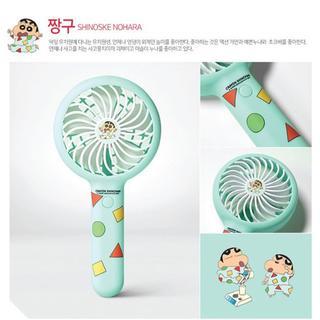 《正規品》 クレヨンしんちゃん 扇風機 韓国限定 ハンディーファン(扇風機)