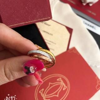 カルティエ(Cartier)のcartier TRINITY 18K  3色  リング(リング(指輪))