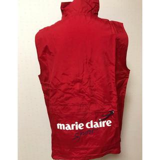 Marie Claire - 【新品】マリクレール スポート☆ ウインドベスト(レッド)