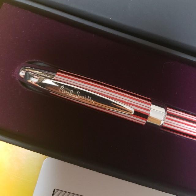 Paul Smith(ポールスミス)の【ボールペン】Paul Smith × Manchester United  インテリア/住まい/日用品の文房具(ペン/マーカー)の商品写真
