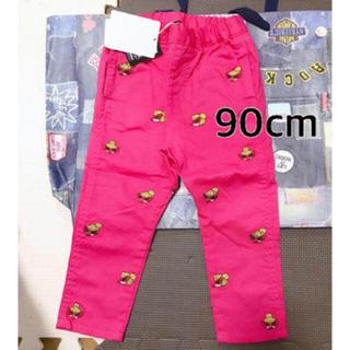 HYSTERIC MINI - 新品 刺繍パンツ 90cm ピンク