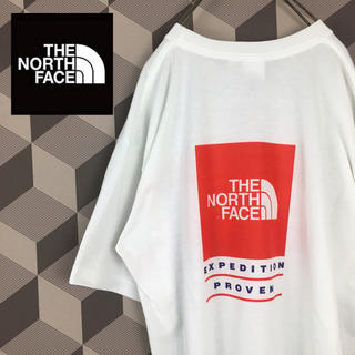 THE NORTH FACE - 【The North Face】ノースフェイス ロゴ Tシャツ バックプリント
