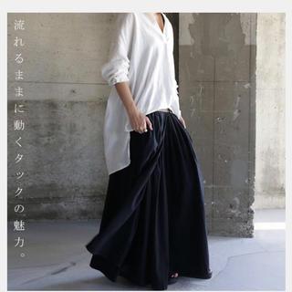 antiqua - アンティカ antiqua プリーツ風ロングスカート