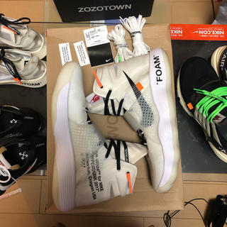 オフホワイト(OFF-WHITE)のOff White Nike 初期 Hyperdunk us10.5(スニーカー)