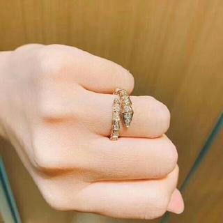 ブルガリ(BVLGARI)のBVLGARI  18K 指輪(リング(指輪))