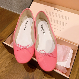 repetto - repetto 36 Patent leather Iconic pink