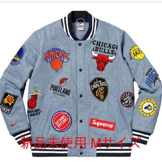 Supreme - Supreme Nike NBA Teams WarmUp Jacket デニム