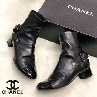 CHANEL - 938 CHANEL ショートブーツ