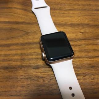 アップルウォッチ(Apple Watch)の☆値下げしました   Apple watch series3 ピンク(腕時計(デジタル))