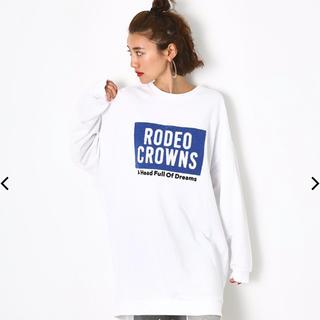 RODEO CROWNS WIDE BOWL - ボックスロゴ ワンピース ロデオクラウンズワイドボウル
