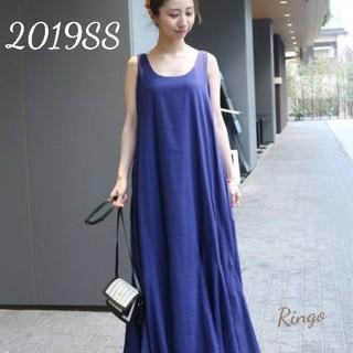 Noble - 《2019SS》【MARIHA】 海の月影のドレス◆ネイビー