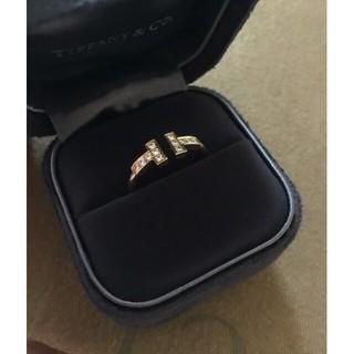 ティファニー(Tiffany & Co.)のティファニー ダイヤ Tワイヤー リング Tiffany & Co.(リング(指輪))