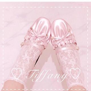 ケイティー(Katie)のBacioBouquet Tiffany リボンパンプス ピンク(ハイヒール/パンプス)