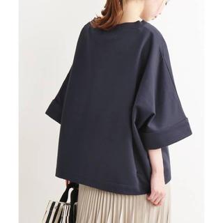 IENA - 2019SS TWW*IENA 別注SUPER ビッグTシャツ ネイビー