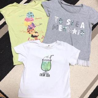 GU - 女の子 Tシャツセット