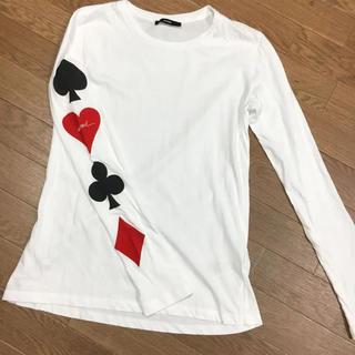 DIESEL - DIESEL トランプ柄ロングTシャツ