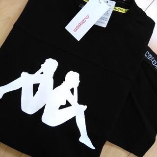Kappa - カッパ ラインTシャツ メンズL ブラック