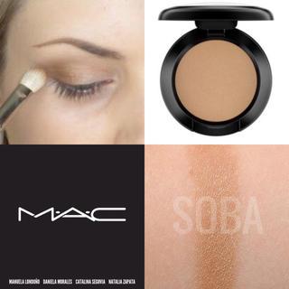 MAC - 【新品箱有】MAC スモールアイシャドウ #SOBA ブルベ御用達カラー ソバ