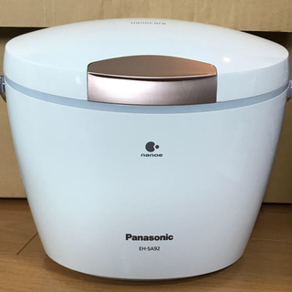 Panasonic - Panasonic スチーマー ナノケア EH-SA92