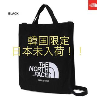 ザノースフェイス(THE NORTH FACE)の★新品★ノースフェイス ホワイトレーベル  ブラック(トートバッグ)