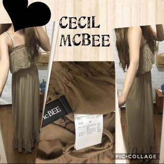 セシルマクビー(CECIL McBEE)のCECILMCBEEマキシワンピース(ロングワンピース/マキシワンピース)