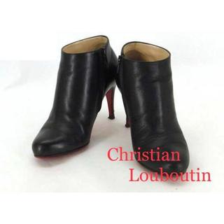 クリスチャンルブタン(Christian Louboutin)のクリスチャン ルブタン レディース ショート ブーツ サイズ36(22.0cm)(ブーツ)