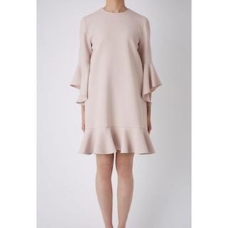 バーニーズニューヨーク(BARNEYS NEW YORK)のYoko Chan ヨーコチャン Flared-sleeve dress 新品(ミニワンピース)